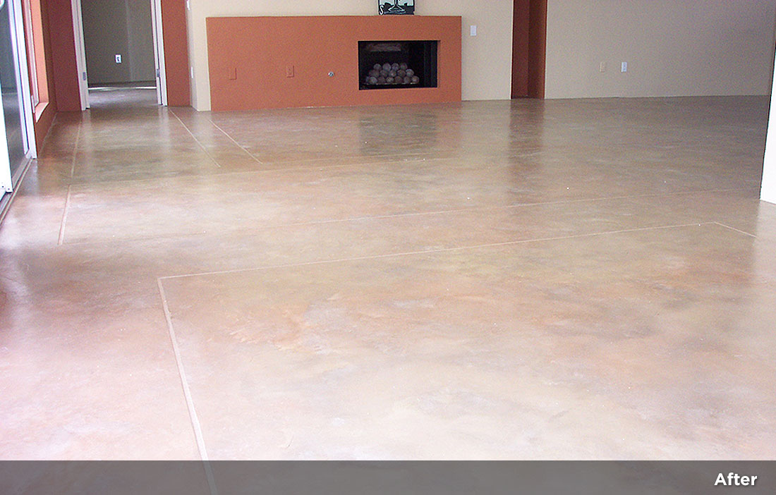 Interior concrete resurfacing 1 monaco concepts - Interior concrete floor resurfacing ...