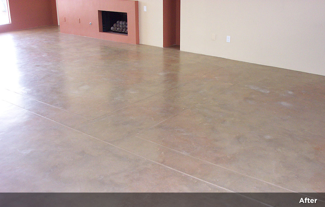 Interior concrete resurfacing 9 monaco concepts - Interior concrete floor resurfacing ...