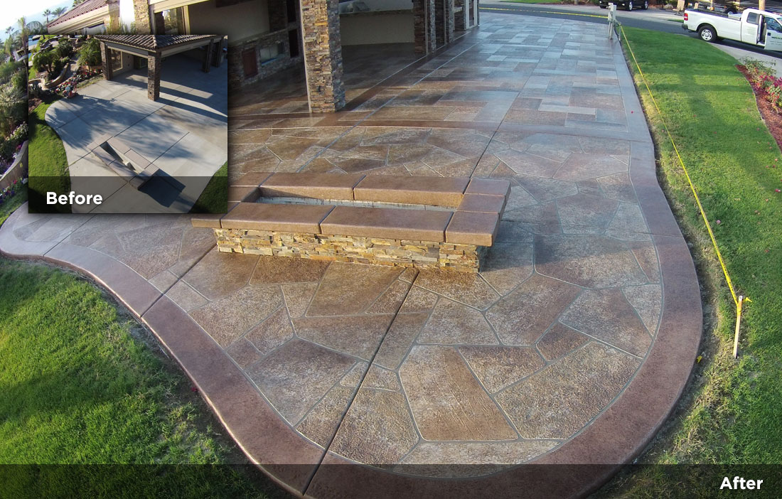 Flagstone design tile design patios pool decks 21 for Flagstone designs