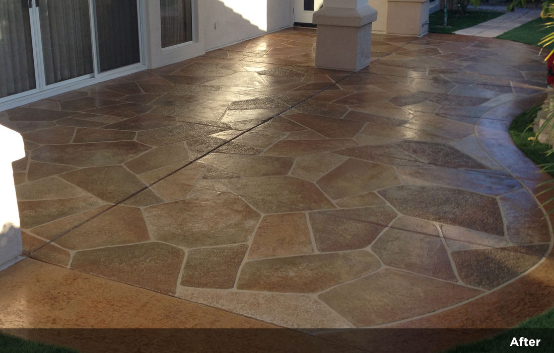Flagstone Design Tile Design Patios Pool Decks 22 Monaco Concepts
