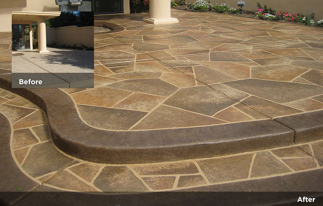 Flagstone design tile design patios pool decks 24 for Flagstone designs